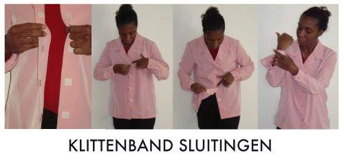 blouse demonstratie